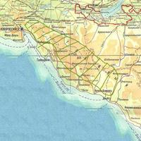Карта ареала Anacamptis morio subsp. сaucasica var.alba
