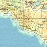 Карта ареала Anacamptis morio subsp. caucasica