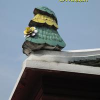 Украшение на крыше