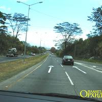 Дорога на карибскую сторону страны