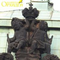 Скульптура на крыше