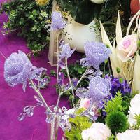Стеклянные цветы. Авторская работа