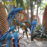 Композиция с попугаями
