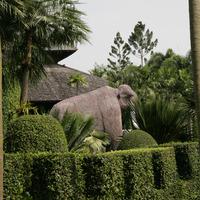 Скульптура слона