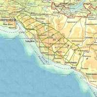 Карта произрастания Orchis militaris