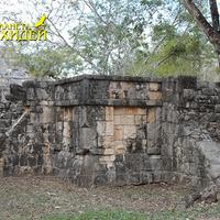Старинные культовые орнаменты на стенах