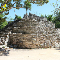 Общий вид древних построек