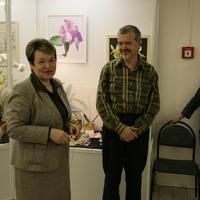директор музея имени К.А.Тимирязеа Елена Александровна Чусова и главный редактор журнала