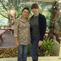 Участники выставки Снежана Лобачева и Татьяна Захарова